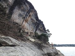 Rock Climbing Photo: Really nice wall with a great 70ish degree overhan...
