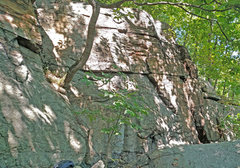 Rock Climbing Photo: Monkey Bar Right, from West