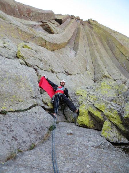 The First Matador Ascent (FMA) of El Matador. ¡Ole!