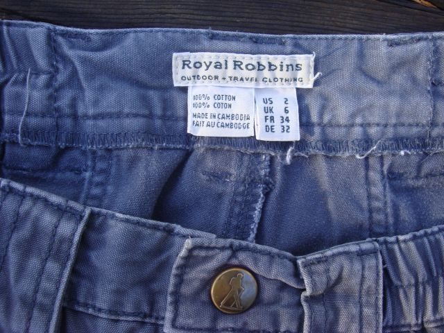 Royal Robbins Canvas Shorts - Size 2