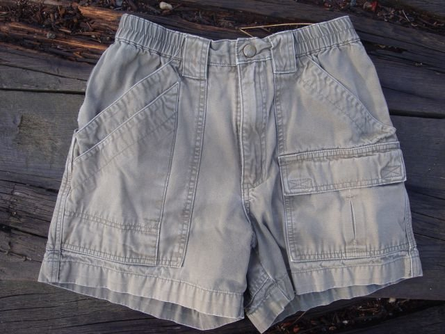 Rock Climbing Photo: Royal Robbins Canvas Shorts - Size 2 in light oliv...