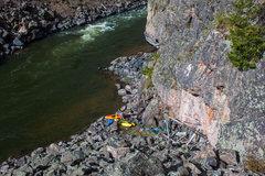 Rock Climbing Photo: Camp at Apple Cider Wall.