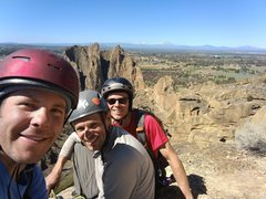 Rock Climbing Photo: The view from the top Voyage of the Cowdog. Happy ...