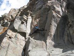 Rock Climbing Photo: 5.13 pitch. Mad sending!