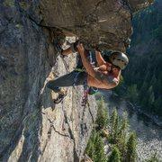Rock Climbing Photo: Kneebaring. @cruxpunks