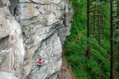 Rock Climbing Photo: Sean da Costa on Tofutti. @cruxpunks
