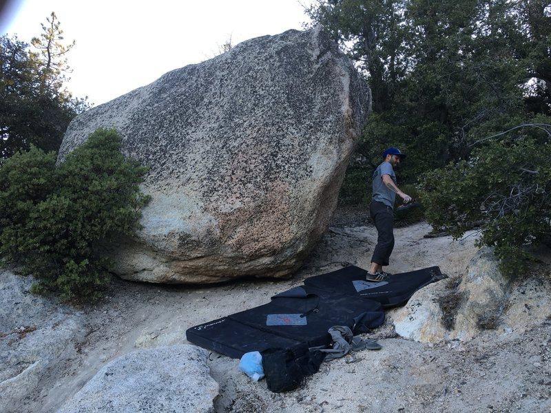 Rock Climbing Photo: B Boulder!