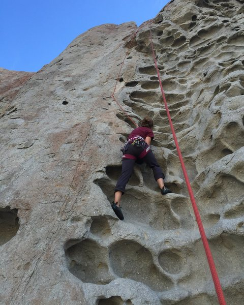 Rock Climbing Photo: hueco galore