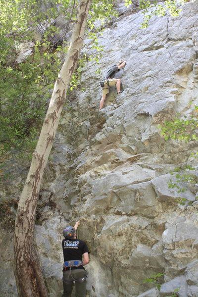 Jordan Climbing Lost Trout
