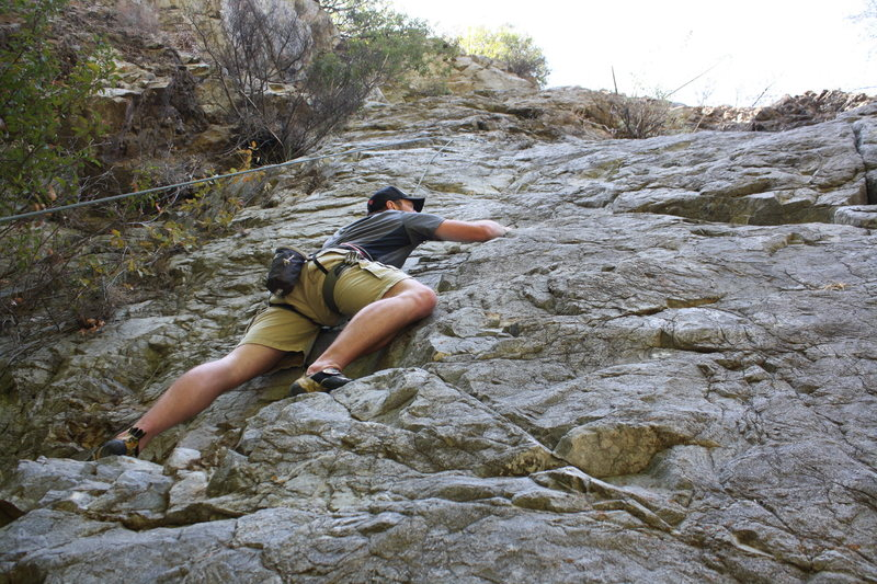 Rock Climbing Photo: Jordan Cruising Lost Trout