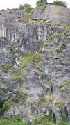 Rock Climbing Photo: Gronk topo