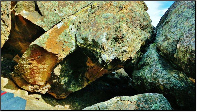 Rock Climbing Photo: De Facto Foible.