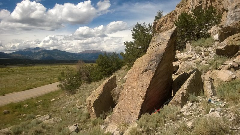 Spearhead Boulder.