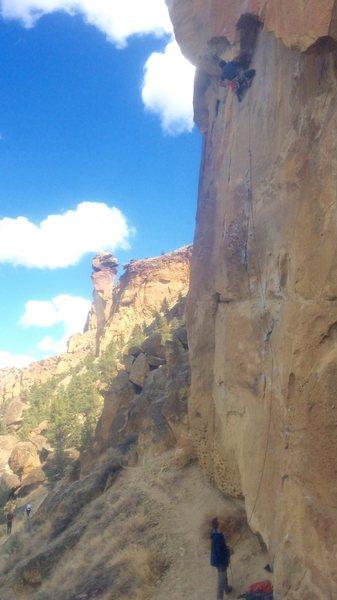 Rock Climbing Photo: Hemp liberation