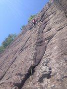 Rock Climbing Photo: swami styling up P3 BG