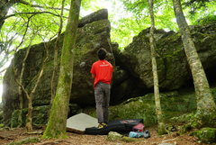 Rock Climbing Photo: grayson highlands