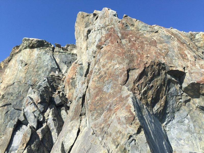Rock Climbing Photo: Red Slab