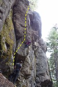 Rock Climbing Photo: Men in Black?