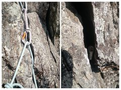 Rock Climbing Photo: Don't pull the rope down through the draws! Pu...