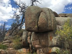 Rock Climbing Photo: Looking at Taxman.