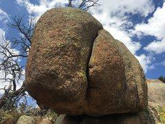 Rock Climbing Photo: Close up of the crack on Taxman.
