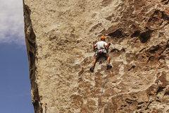 Rock Climbing Photo: Jonny on Tribal Boundaries. 8/26/16.