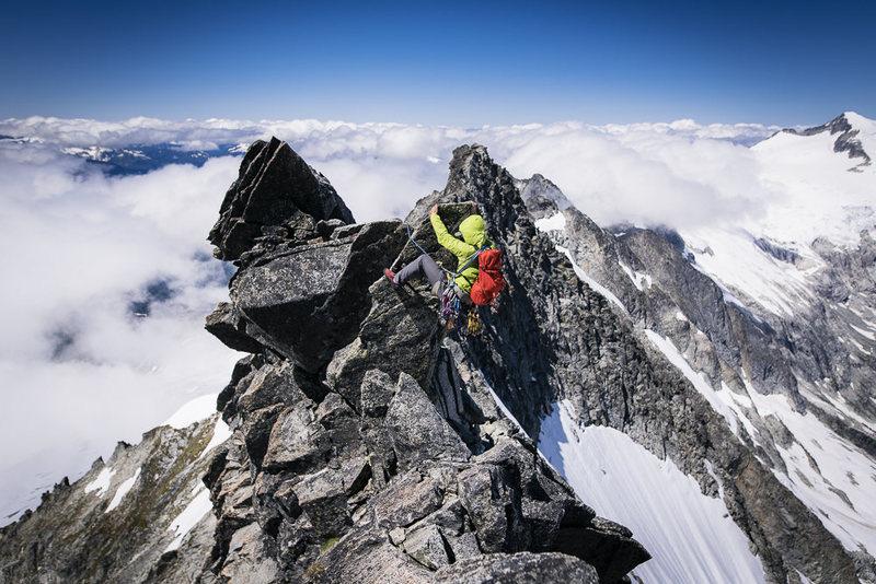 West Ridge of Forbidden Peak ©Matt Baldelli Photography