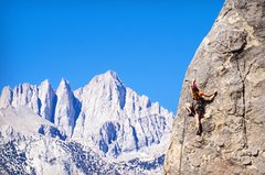 Rock Climbing Photo: Pirates on Horseback, 5.10b. Fun route with incred...