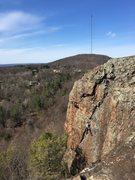 Rock Climbing Photo: Locomotive breath.