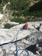 Rock Climbing Photo: Emma on the FA of Heathens.