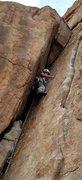 Rock Climbing Photo: Focus, focus. Julie Gauff bringin' the focus.