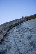 Rock Climbing Photo: last pitch is straight hero climbing. awesome way ...