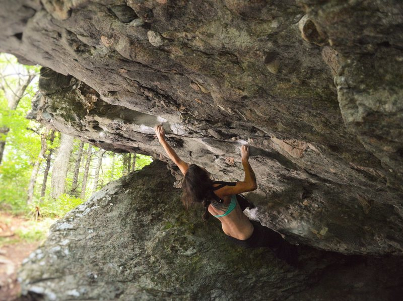 Audrey Scott hanging onto the perfect pinches of &quot@SEMICOLON@Nancy With an E&quot@SEMICOLON@ (V7)
