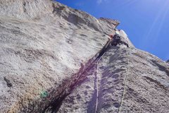 Rock Climbing Photo: 3rd pitch. great jamming here