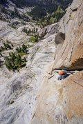 Rock Climbing Photo: 4th pitch