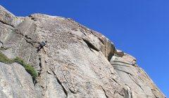 Rock Climbing Photo: passing #3