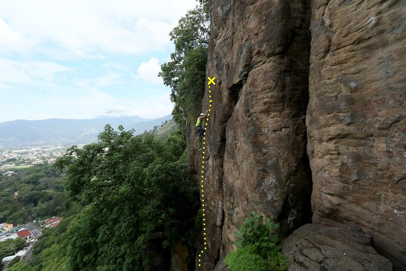 Amatitlan <br> Route: Entropia 5.10b