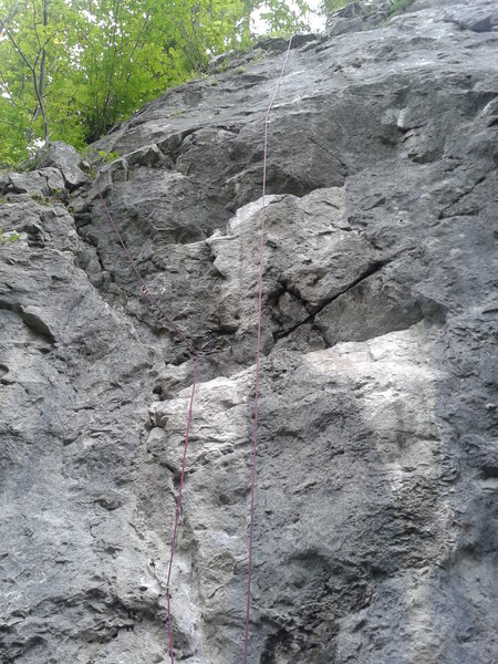 Wasserrillen follows the clipped bolts.