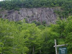 Rock Climbing Photo: Barrett's Cove Cliff from Barrett's Cove (...