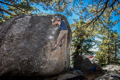 Rock Climbing Photo: Nicholas Rondilone on Buttermilk Face Left. Photo ...