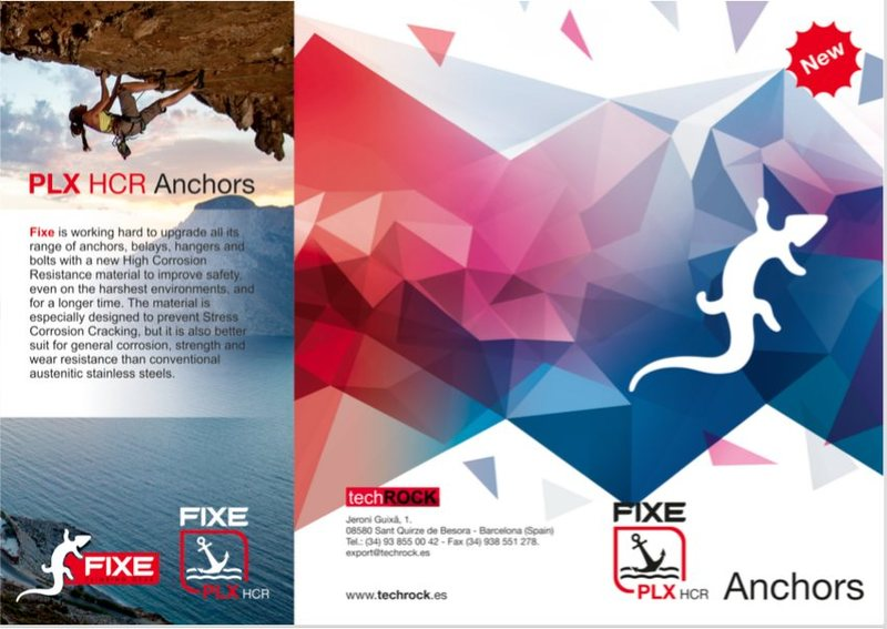 Rock Climbing Photo: Fixe PLX HCR Flyer Page 1