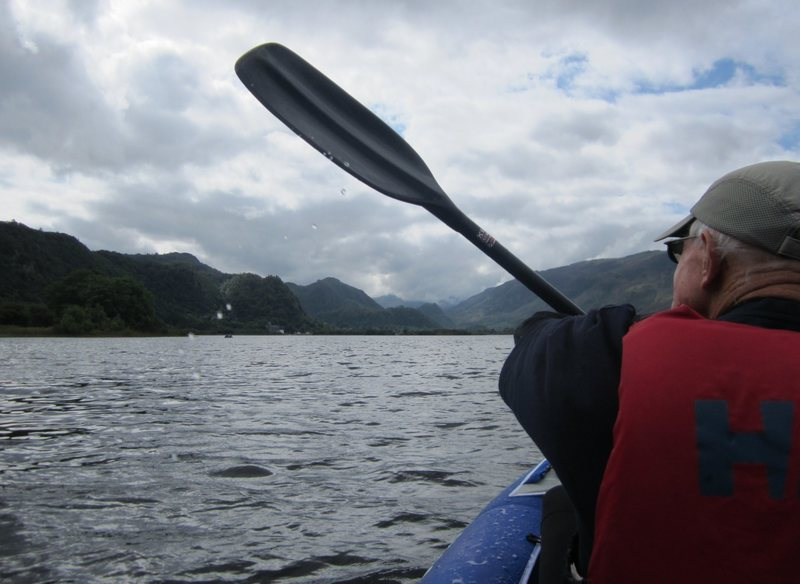 On Derwentwater  Lake