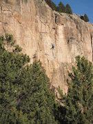 Rock Climbing Photo: Shelf Road.