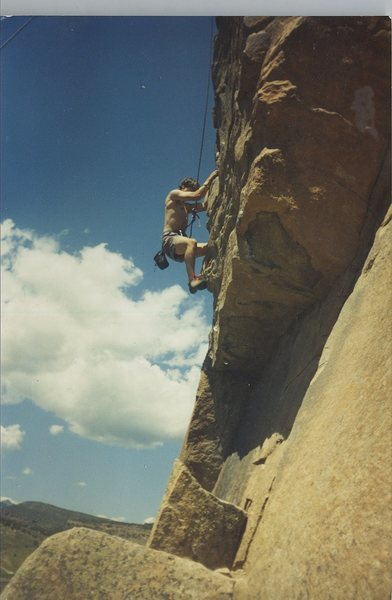 Walcott, CO. First climb Ever. 1989.
