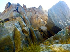 Rock Climbing Photo: Just to the right of the main face. Has some climb...