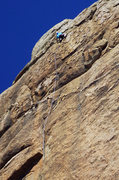 Rock Climbing Photo: The fantastic Competitive Edge on Crocodile Rock. ...