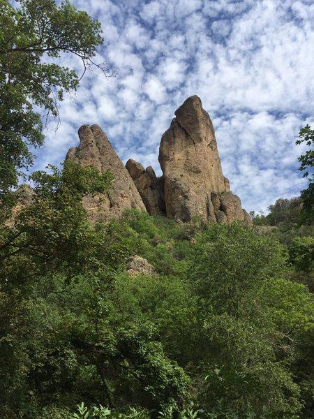 Rock Climbing Photo: Sweet pic bro~