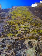Rock Climbing Photo: More back woods green 2 black with a dash of blue!...