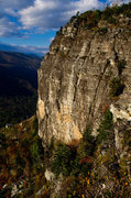 Rock Climbing Photo: Second pitch of Dopey Duck; Photo by Lynn Willis (...