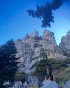 Rock Climbing Photo: Norwood & The Dark Angel Butress!!